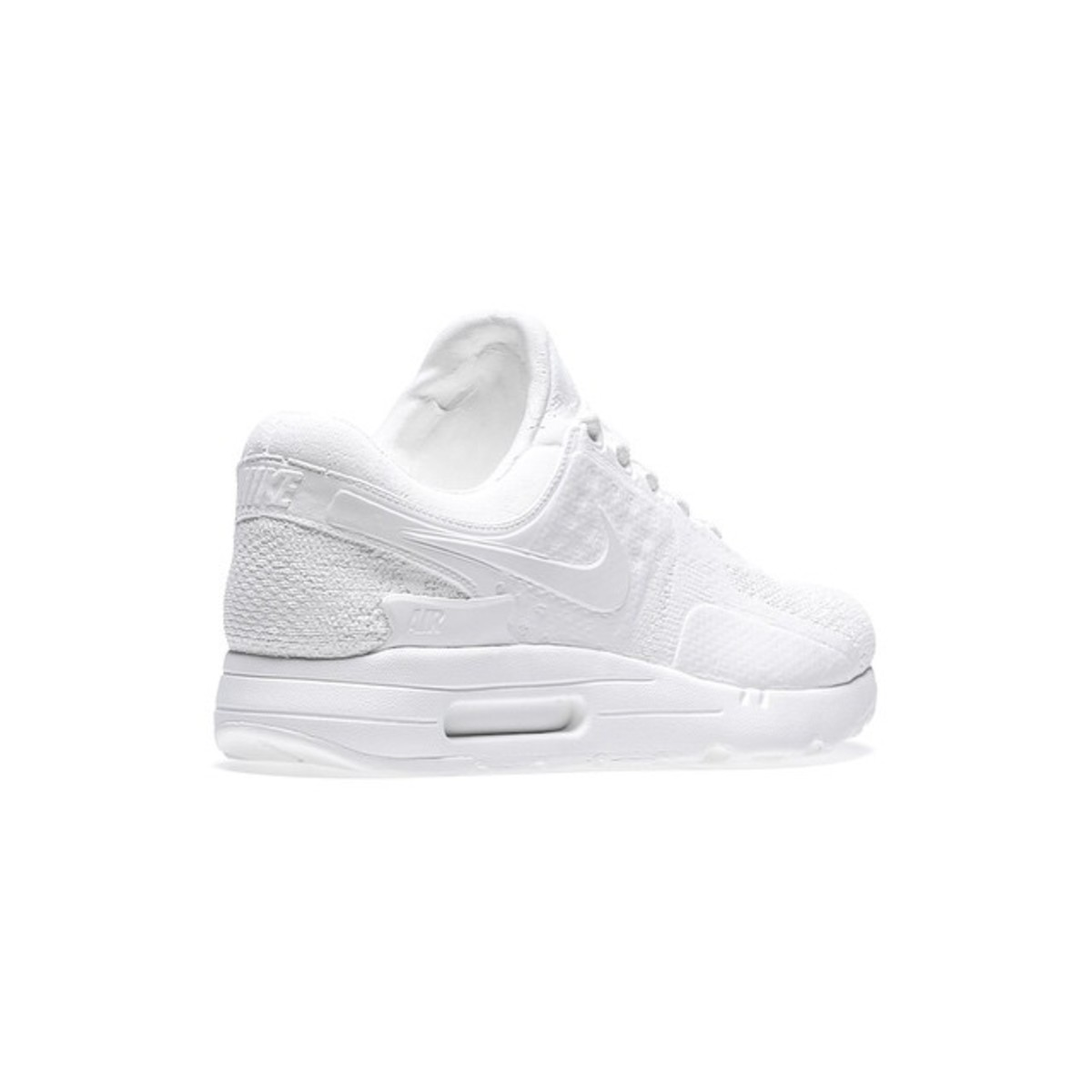 nike air max zero all white