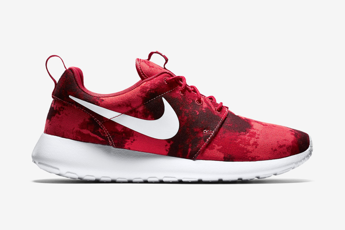 competitive price 73630 f302e Nike Roshe One Print – Gym Red Deep Burgundy