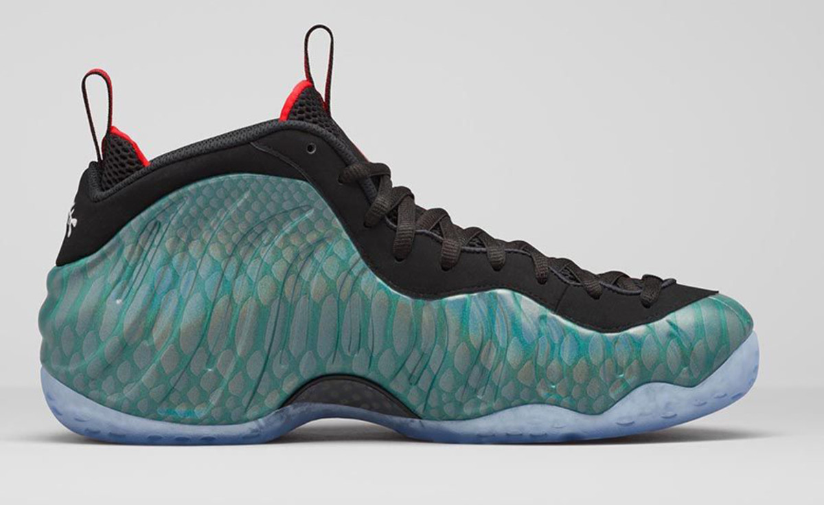 nike air foamposite one gone fishing freshness mag