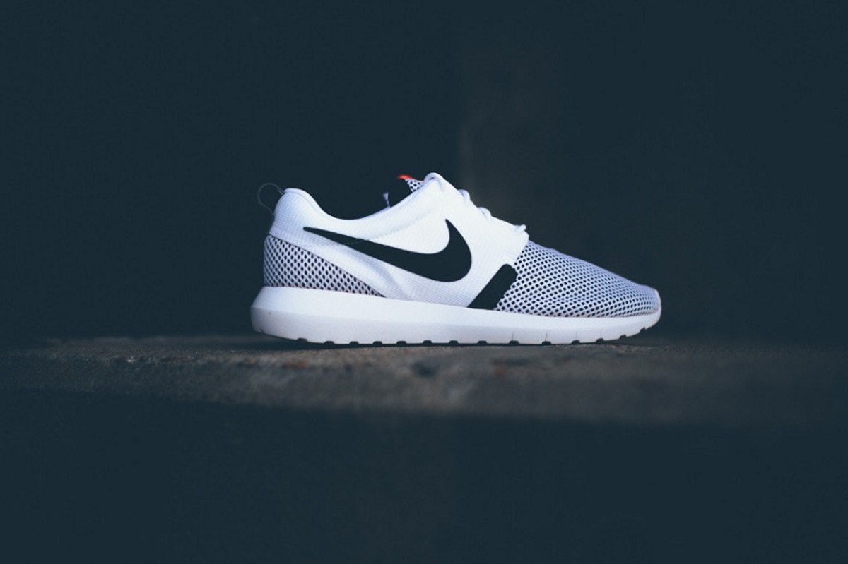pchakp Nike Roshe Run NM BR - White/Black - Freshness Mag