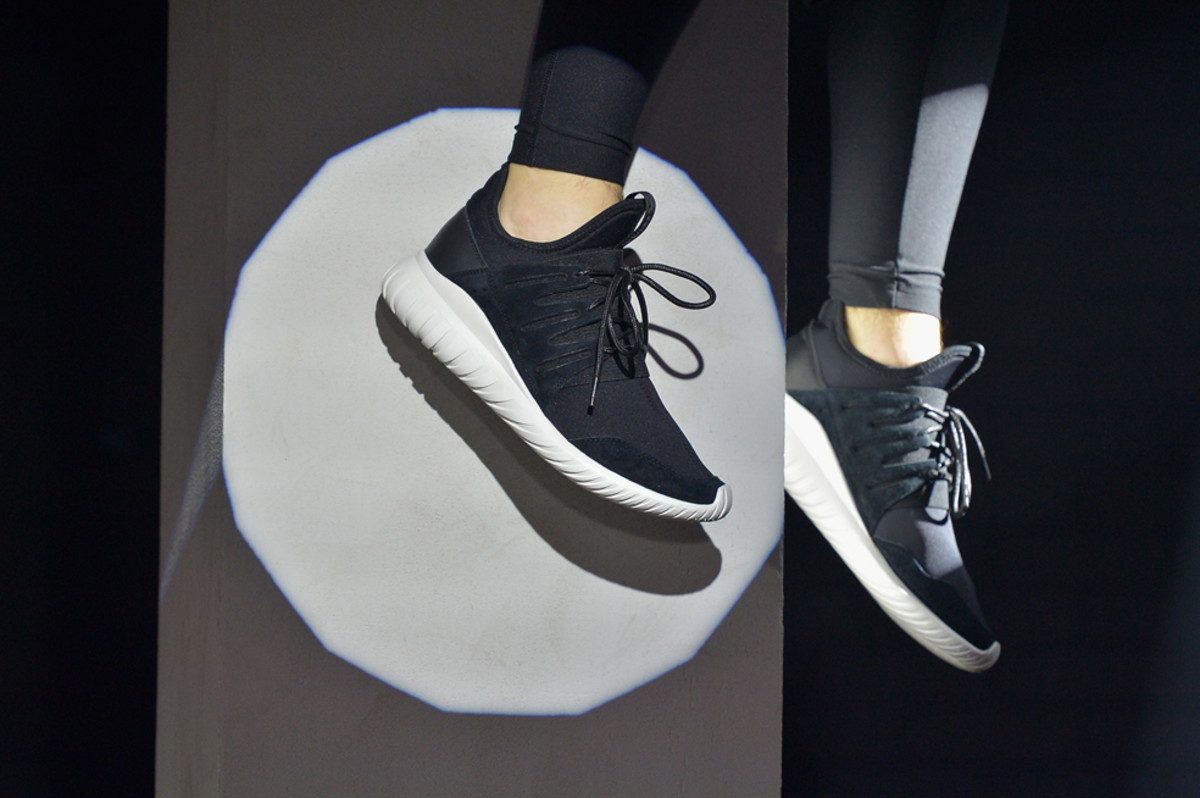 adidas Tubular Nova PK Prime Knit Running White Core Black
