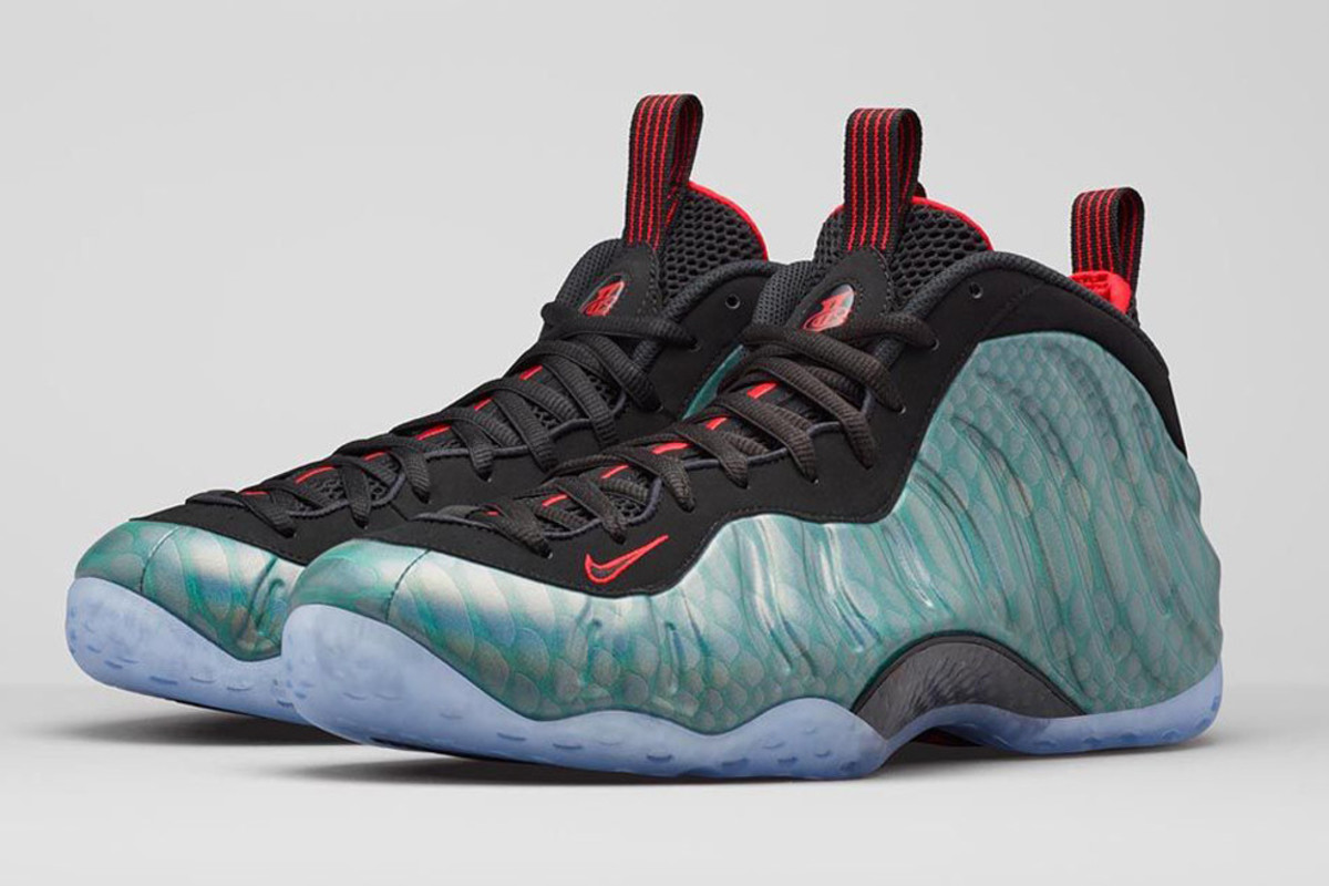 "1a6d0503bd1 Nike Air Foamposite One ""Gone Fishing"" - Freshness Mag"