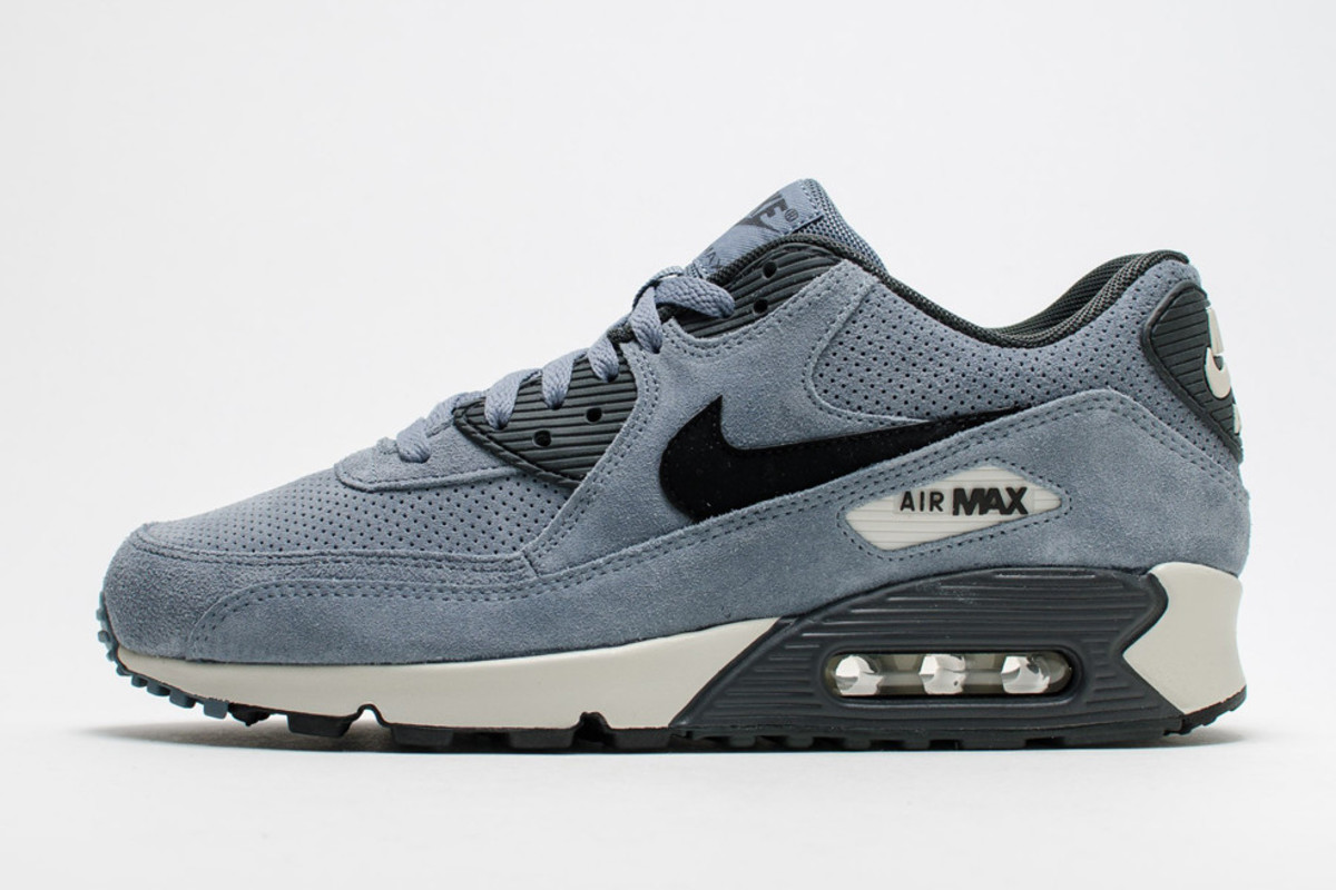 """outlet store promo codes outlet online Nike Air Max 90 LTR Premium """"Blue Graphite"""" - Freshness Mag"""