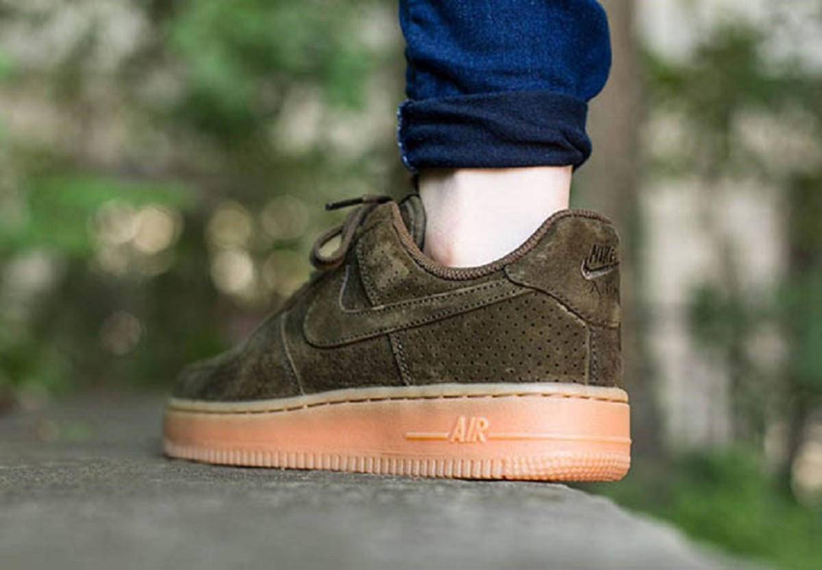 Nike Air Force 1 Low Dark Suede Freshness Mag
