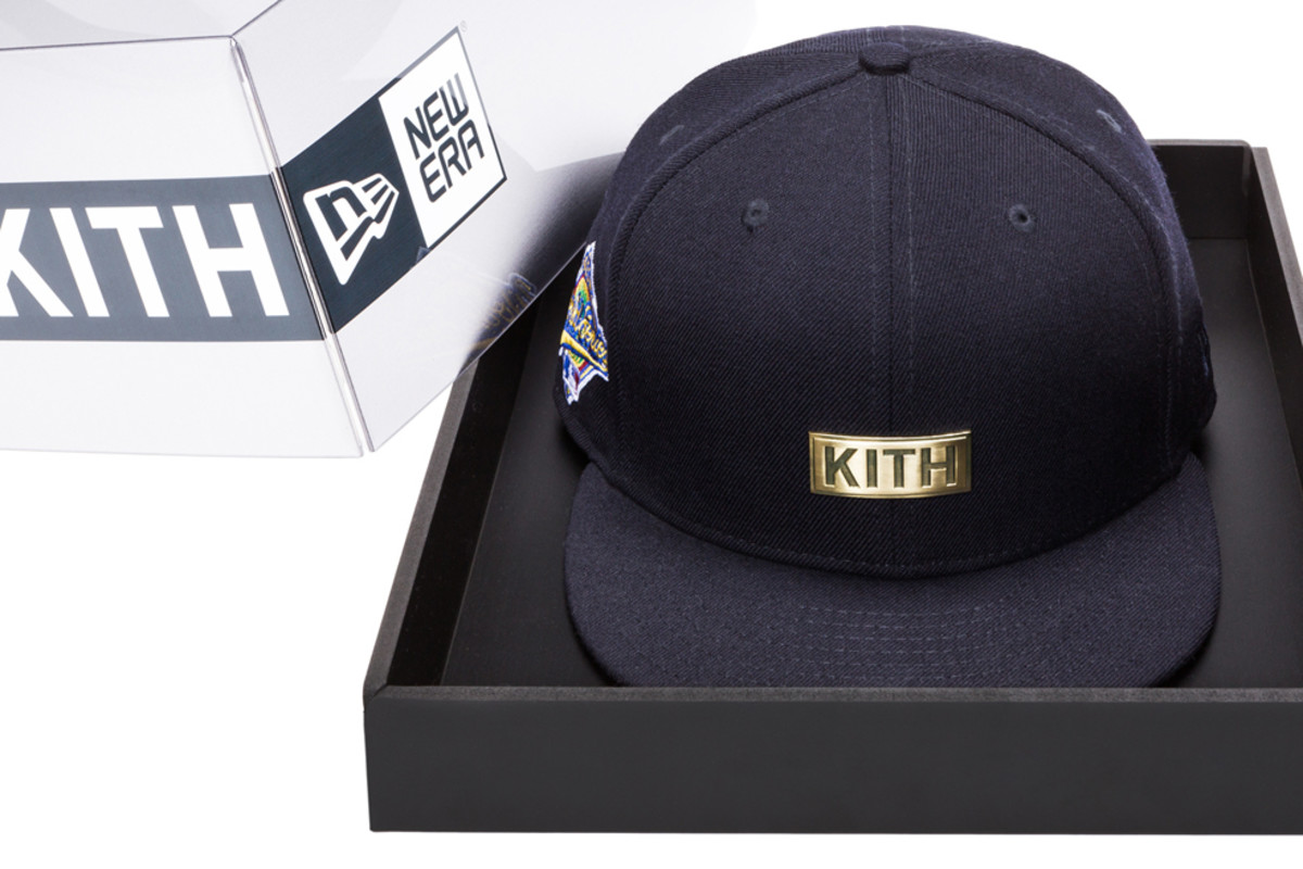 "7bbb8dfabe1fe KITH x New Era New York Yankees ""World Series"" 59FIFTY Fitted ..."