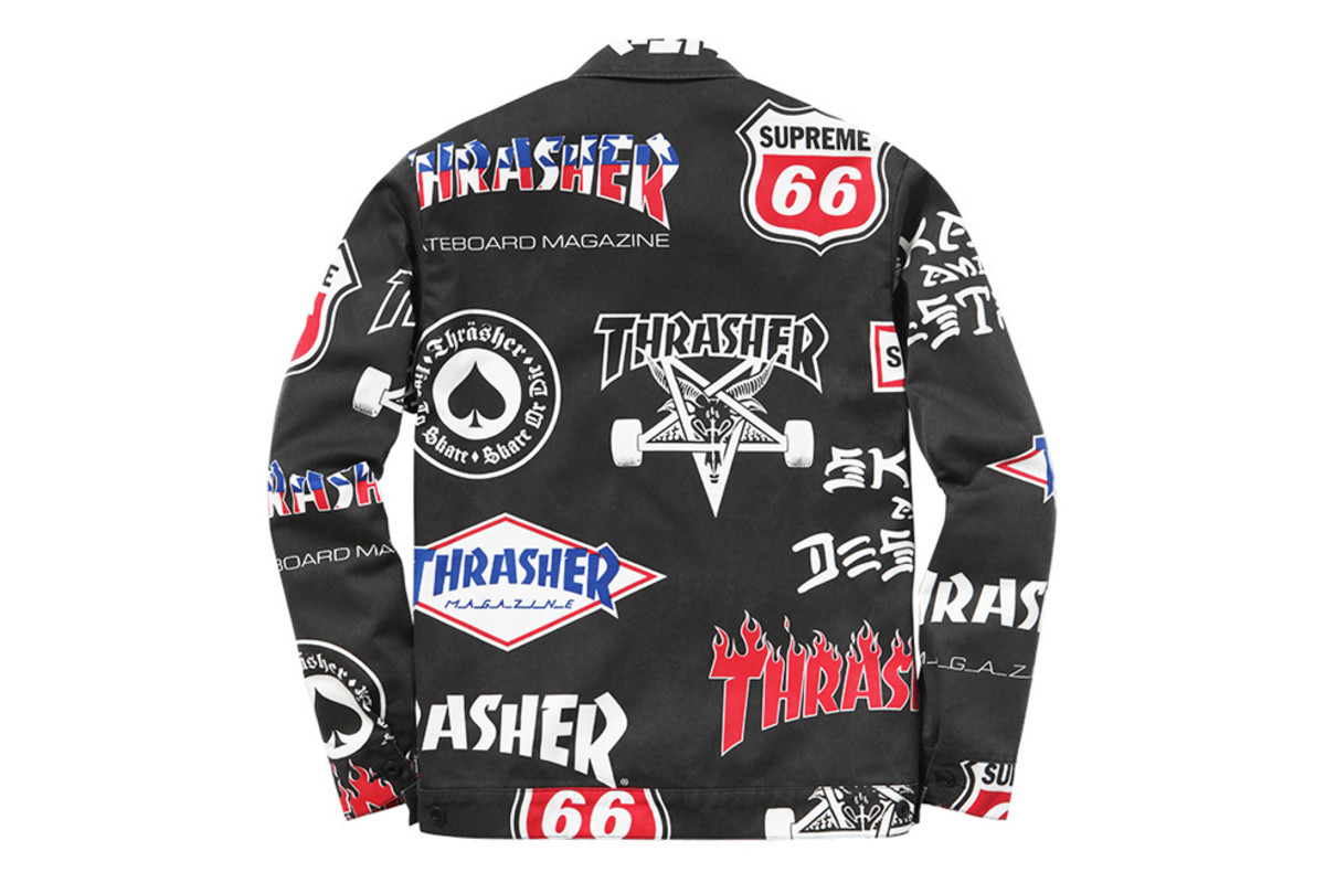 0bf1aff2a2c Supreme x Thrasher Summer 2015 Collection - Freshness Mag