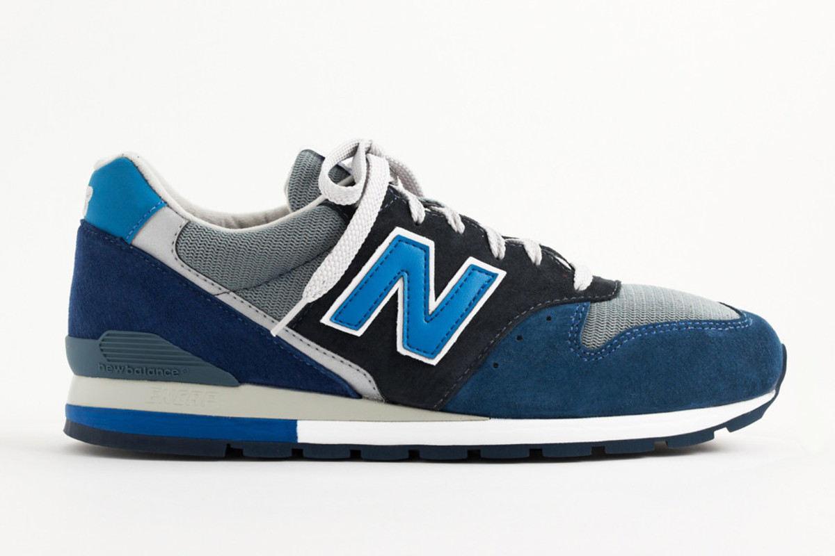 "finest selection 2ecb3 747b7 J.Crew x New Balance 996 ""Neptune Blue"" - Freshness Mag"