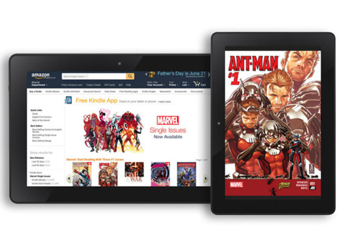 amazon-brings-marvel-comics-to-the-kindle-store