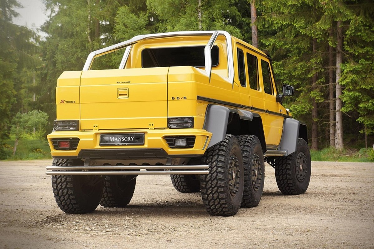 Mercedes benz g63 amg 6x6 tuned by mansory freshness mag for How much is a mercedes benz g63