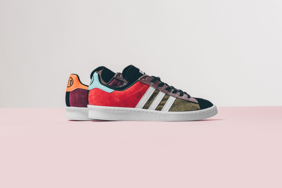 "sports shoes c597c bdf86 The Fourness x adidas Originals Campus 80s ""Jam"""