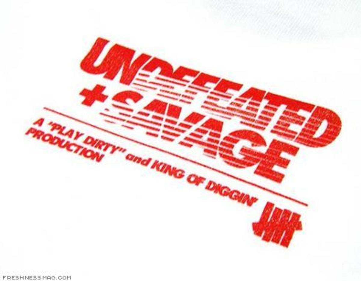UNDFTD JAPAN x SAVAGE! - Collab Tee - 4