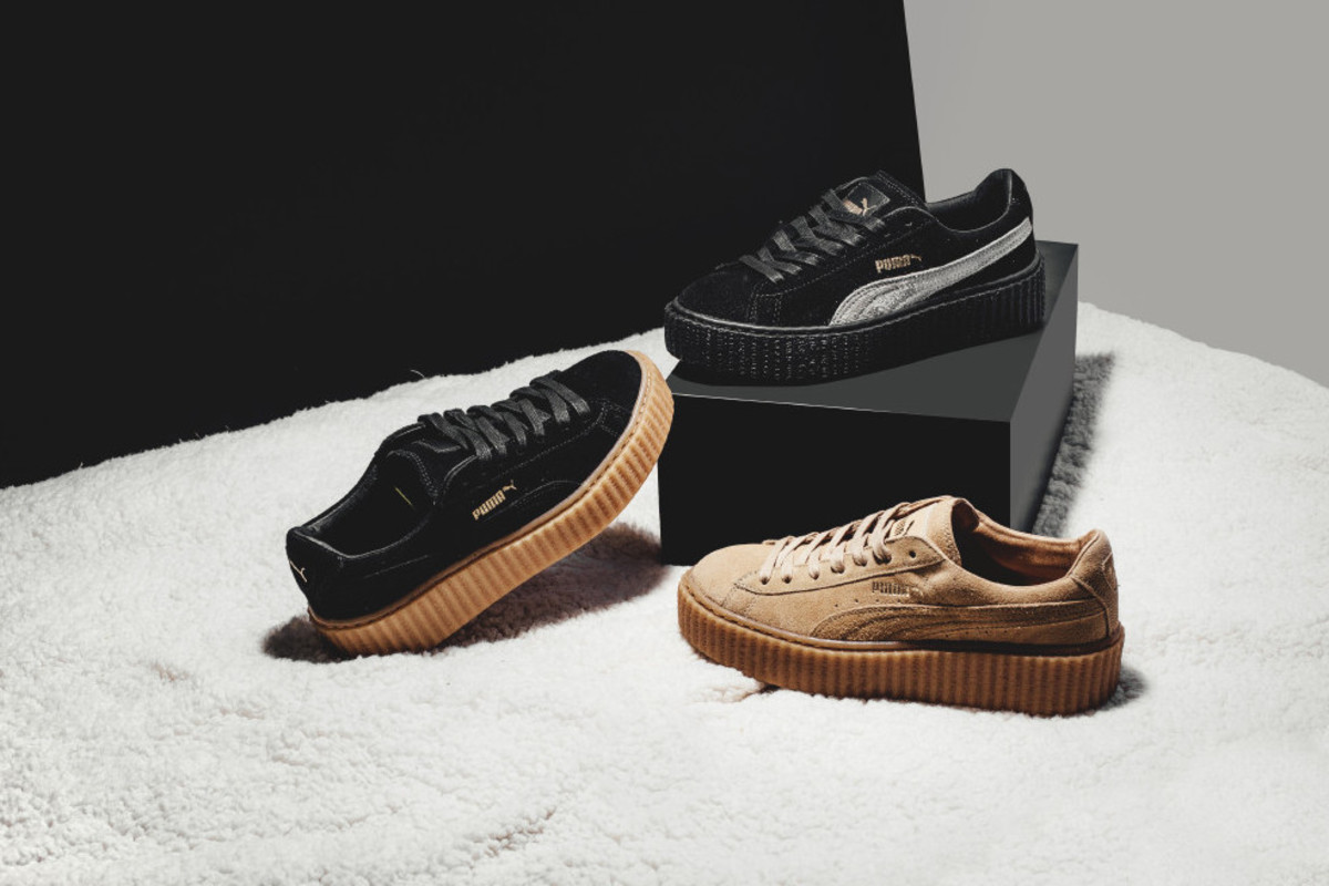 official photos 43ef5 0bf29 PUMA Suede Creepers by Rihanna - Freshness Mag