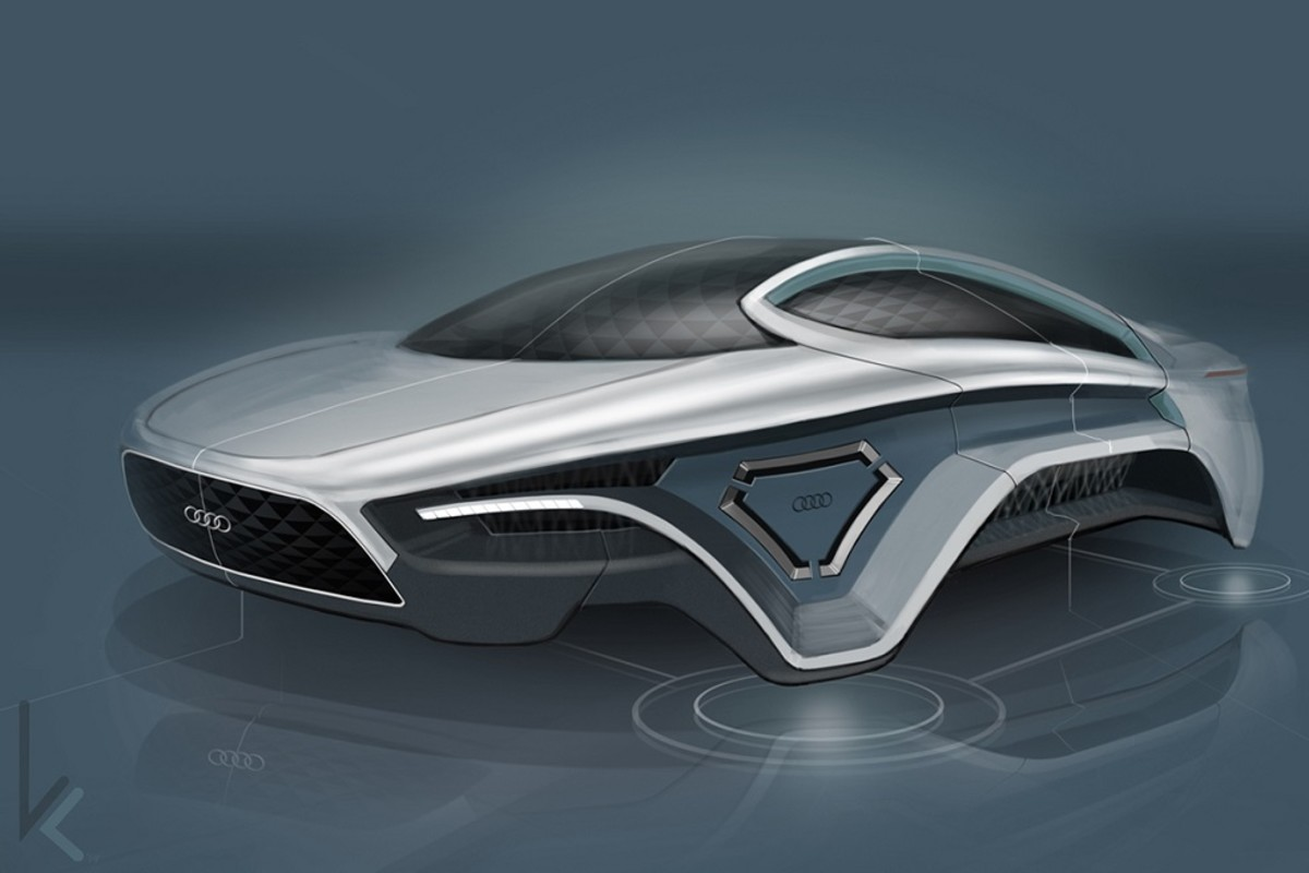 How Much Is A Hoverboard >> Audi Electromagnetic Car Concept - Freshness Mag