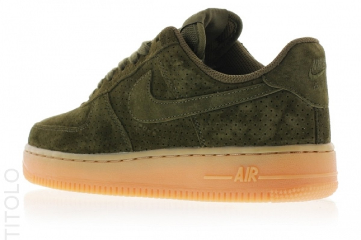 nike air force 1 low dark suede freshness mag. Black Bedroom Furniture Sets. Home Design Ideas