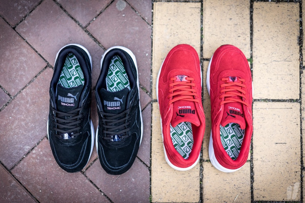 "premium selection 7a68d 60adc PUMA Trinomic R698 ""Allover Suede"" Pack - Freshness Mag"