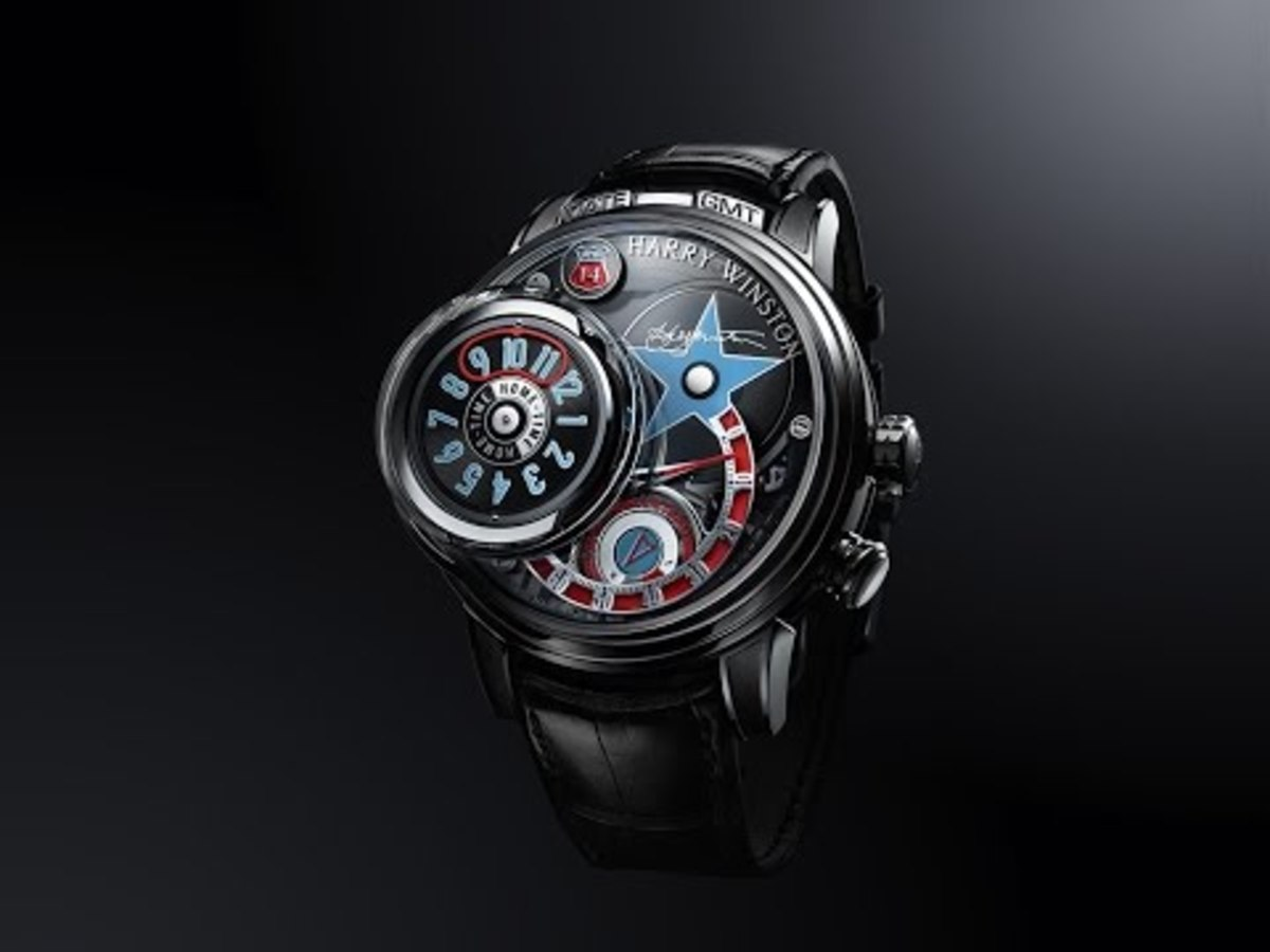 The Jukebox Inspired Harry Winston Opus XIV Exceeds the Hype