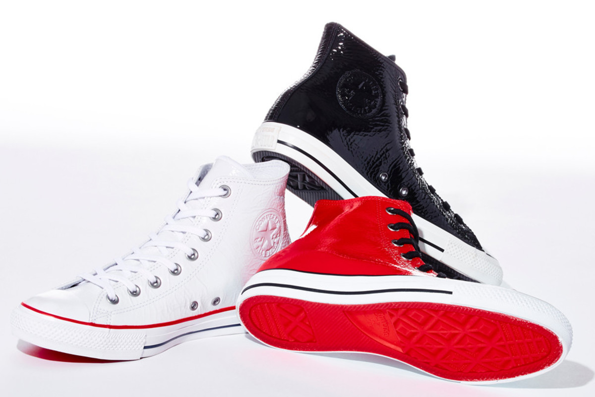 d13735e3f359 Barneys Gives the Converse Chuck Taylor a Glossy Makeover ...