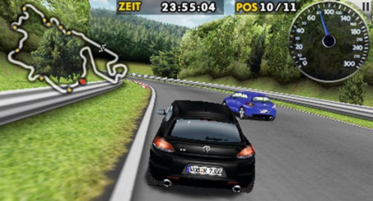 VW Scirocco R Racing Game | iPhone Application - 0