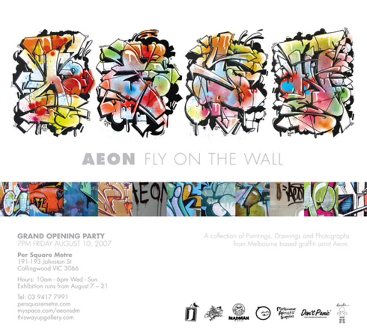 Aeon - Fly On The Wall Exhibition - 0