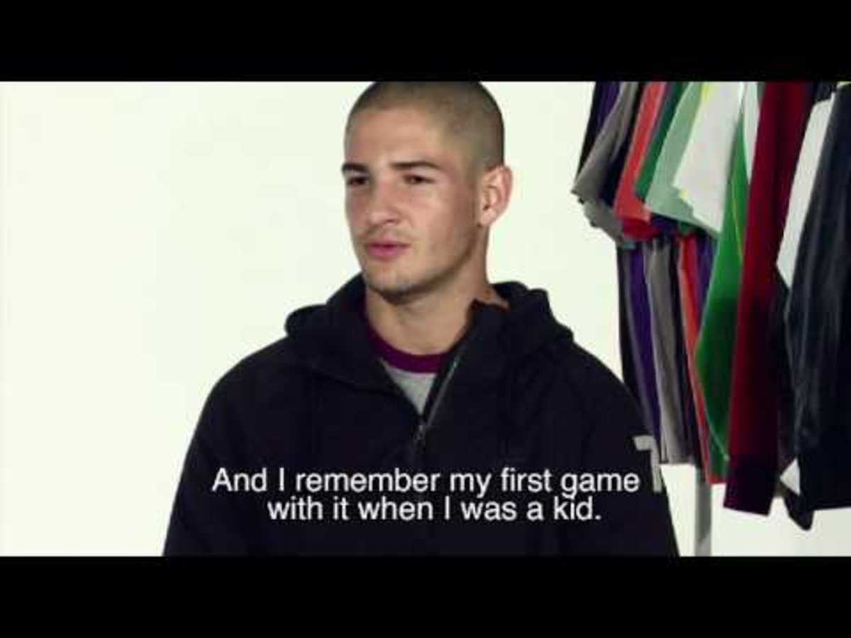 Nike Sportswear x Alexandre Pato   AW77 Hoodie Athlete Style Photo Shoot | Behind the Scene Video