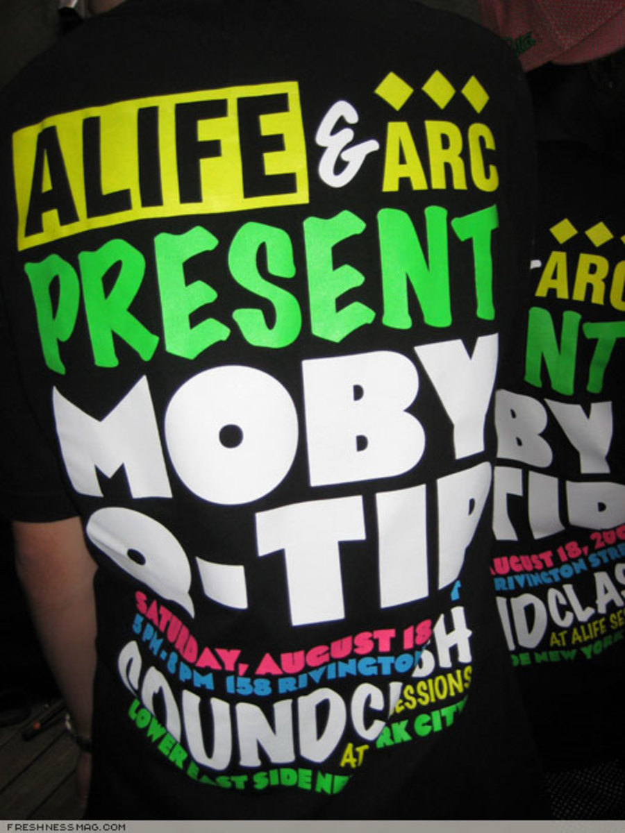 ALIFE Sessions: Moby + Q-Tip - August 18th, 2007 - 0