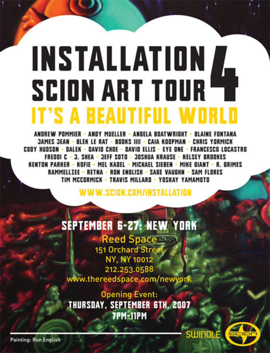 Scion presents It's a Beautiful World @ Reed Space - 2