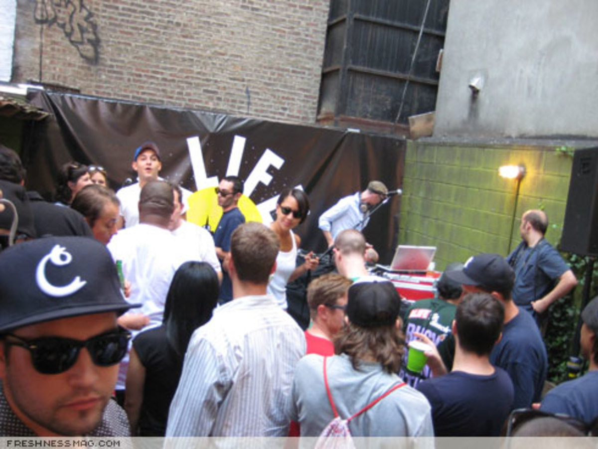 ALIFE Sessions: Moby + Q-Tip - August 18th, 2007 - 5