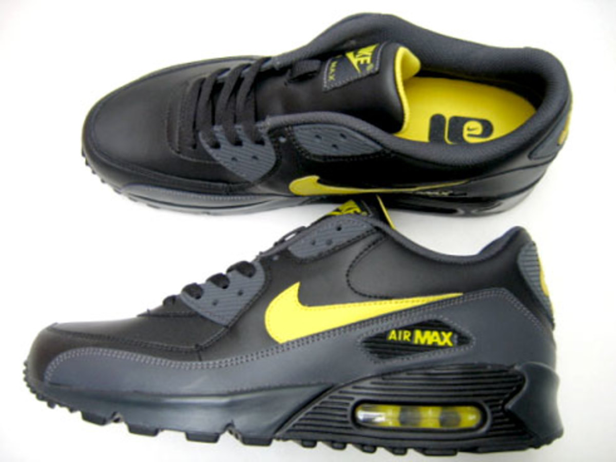 buy popular 7e187 2a2bb Nike Air Max 90 LE - Black, Zest, Anthracite - 1