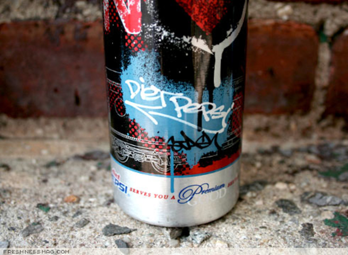 NORT x Diet Pepsi - Premium Good Bottle by STASH - 1