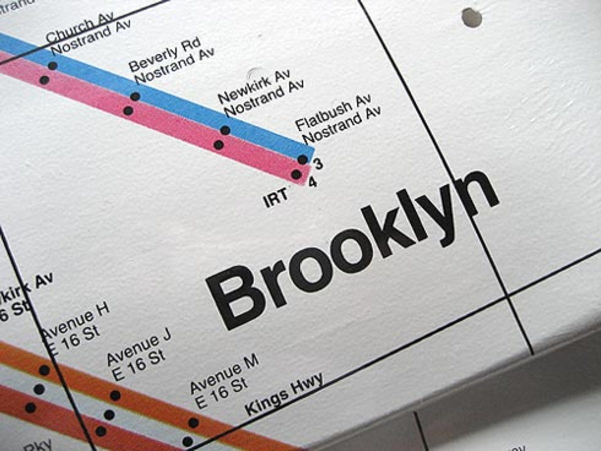 Premium Goods - Subway Map Decks - 4