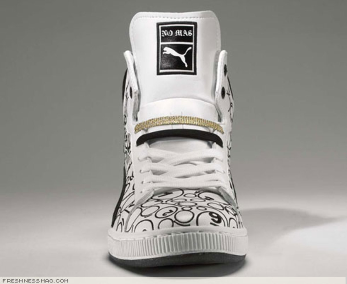 588caf74aa5d Round 2 - PUMA First Round x NO MAS - Lottery Shoe - Freshness Mag