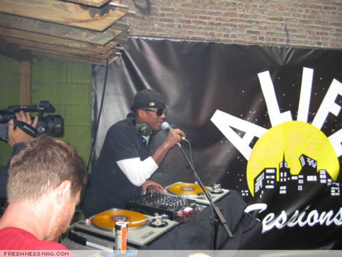 ALIFE Sessions: Moby + Q-Tip - August 18th, 2007 - 7