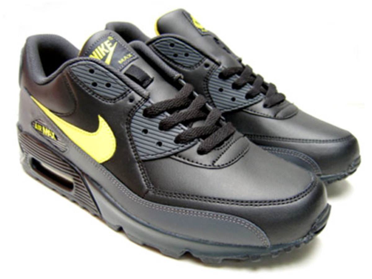 new styles 3ef84 5a72b Nike Air Max 90 LE - Black, Zest, Anthracite - 0