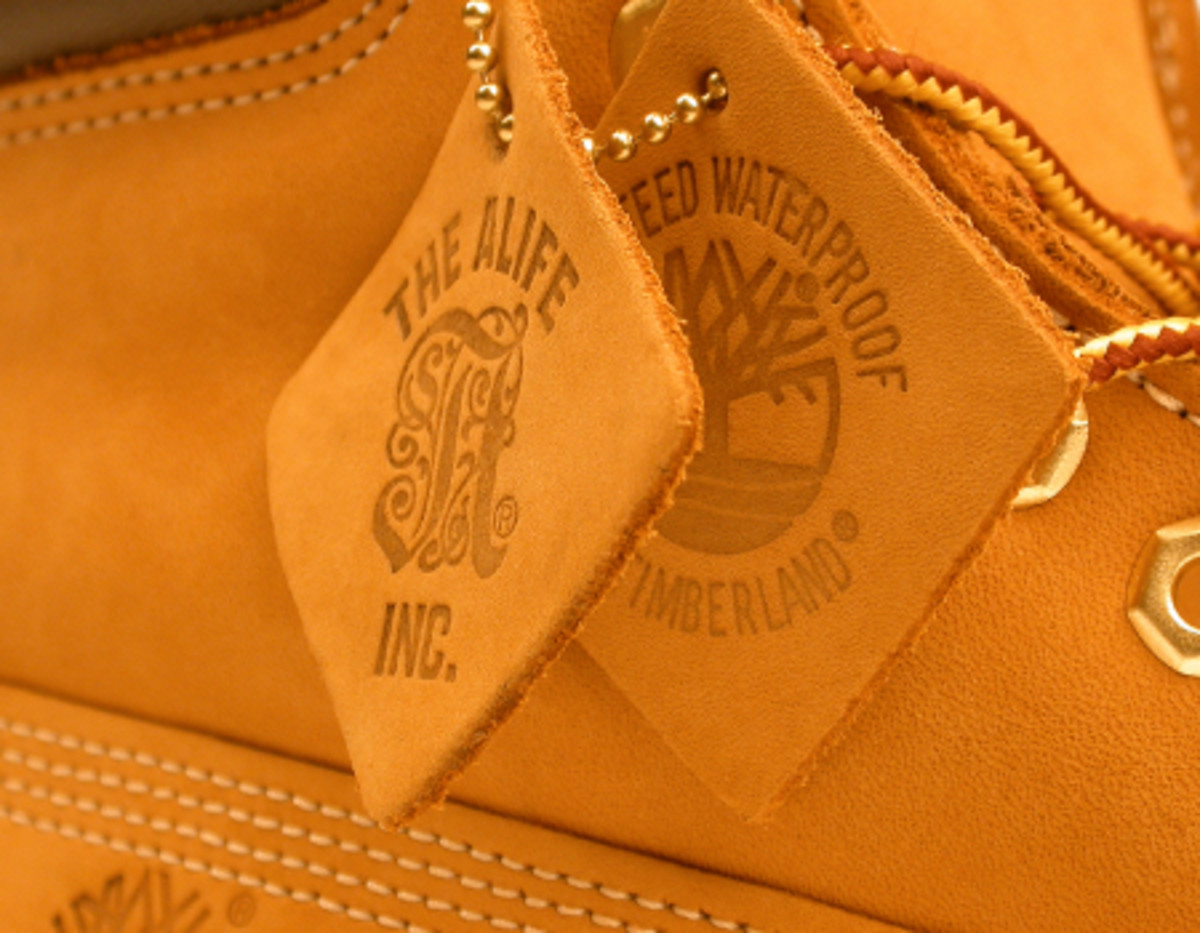 "ALIFE x Timberland 6"" Wheat Boot - Available 9/22 - 3"