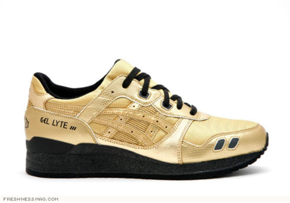 David Z x ASICS Gel Lyte III - Metallic Pack - 2