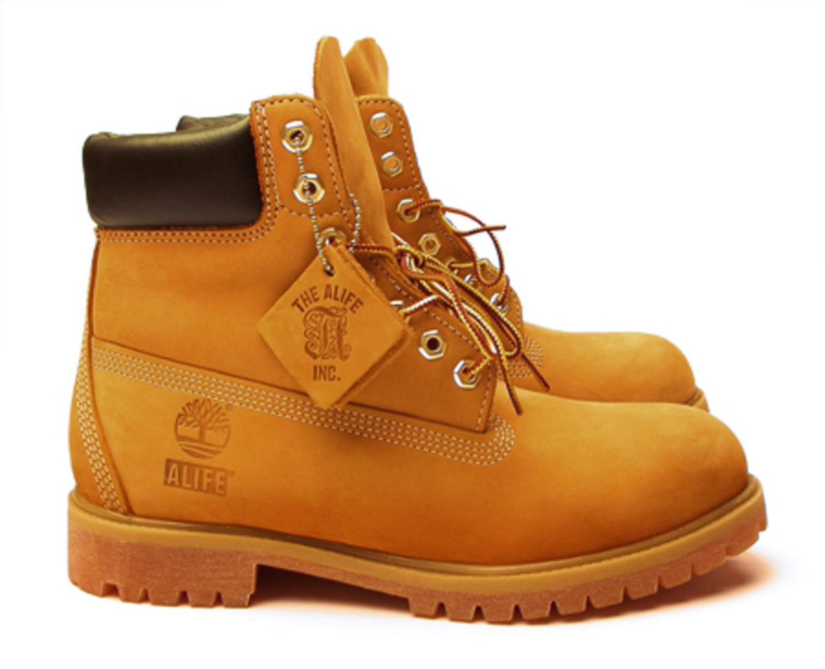 "ALIFE x Timberland 6"" Wheat Boot - Available 9/22 - 0"