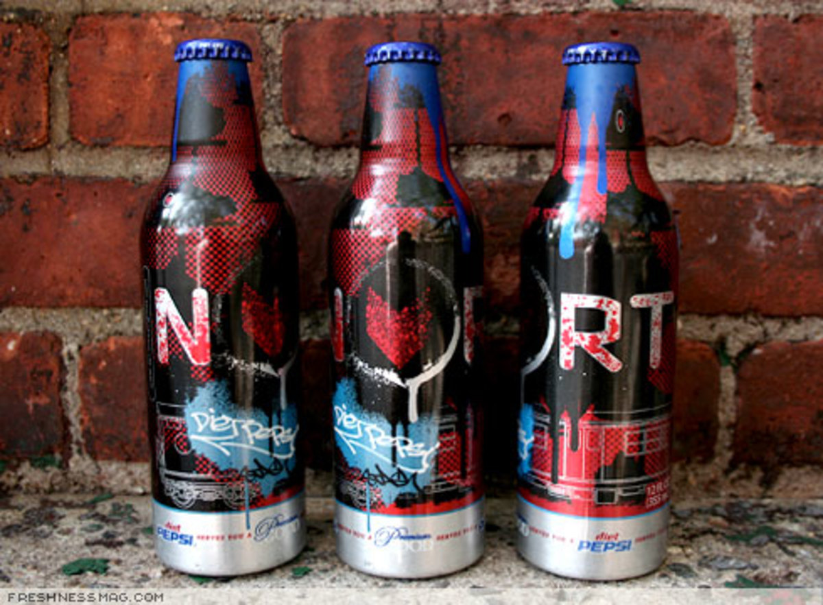 NORT x Diet Pepsi - Premium Good Bottle by STASH - 0