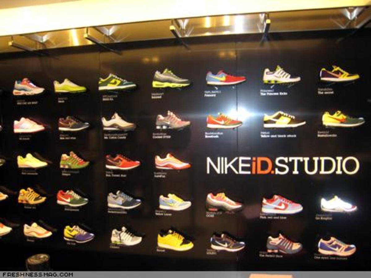 NIKEiD Studio at Niketown Opening Event - 2