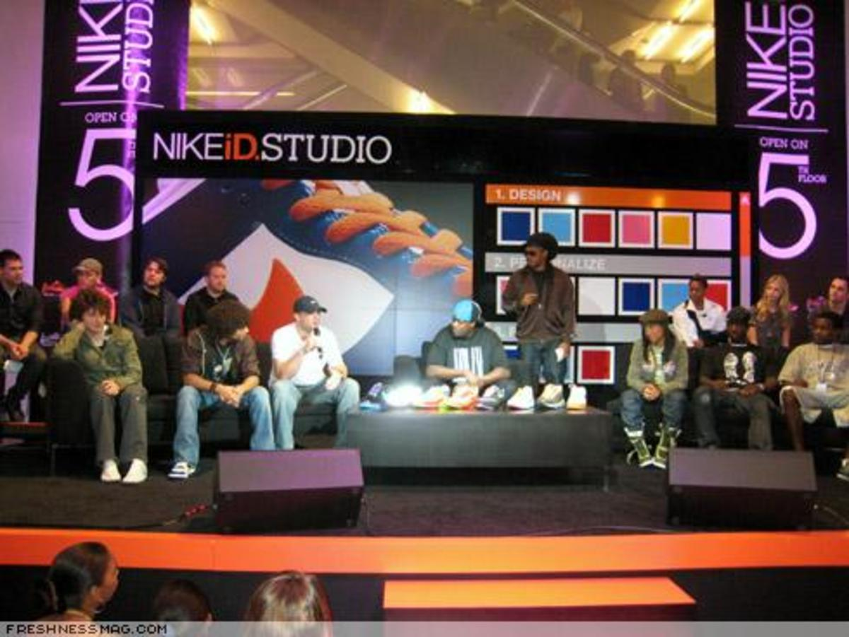 NIKEiD Studio at Niketown Opening Event - 0