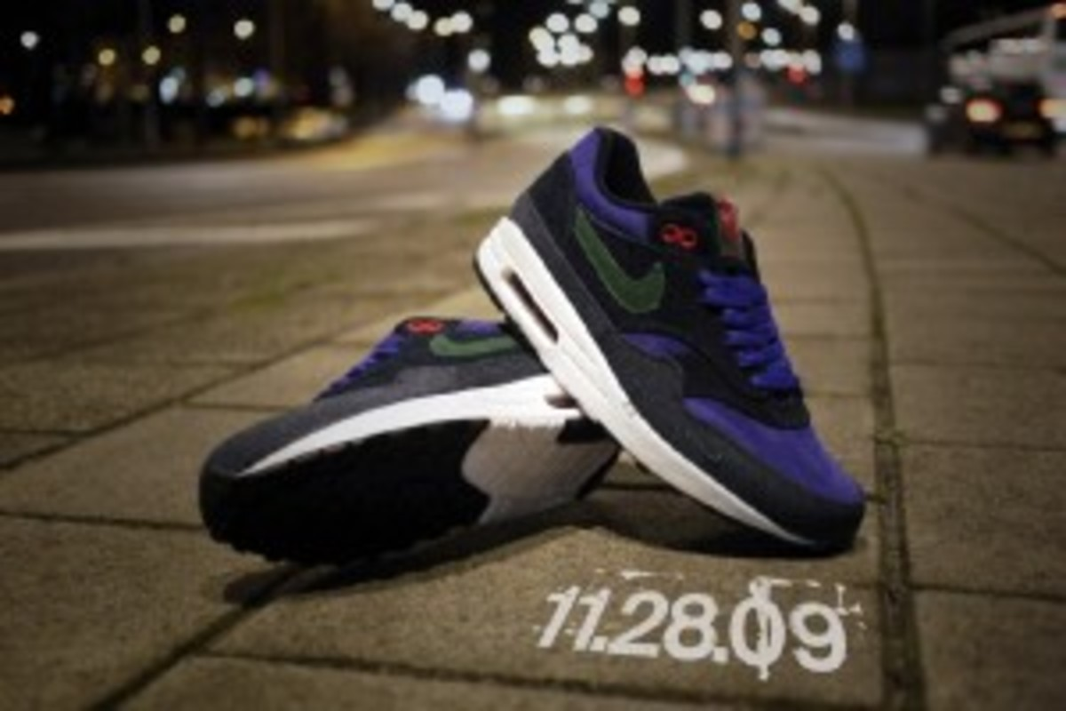 cheap nike air max 1 2013 qs patta purple denim f7177 46bd1