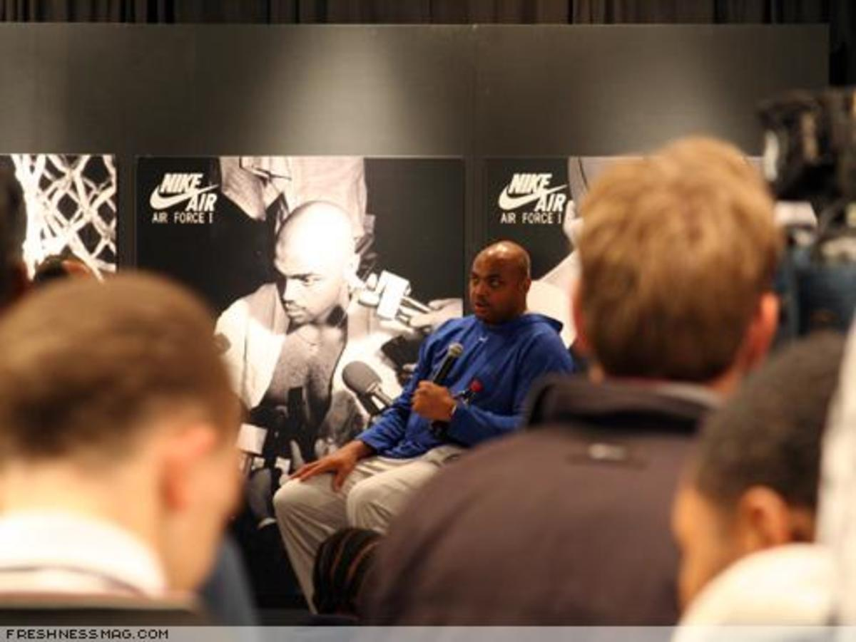 Charles Barkley Event at Phildelphia - 4