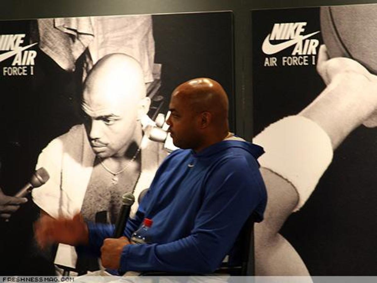 Charles Barkley Event at Phildelphia - 6