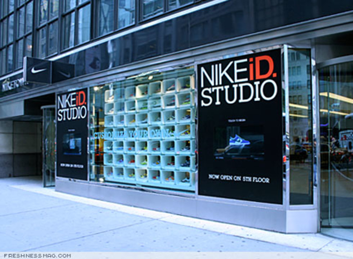 Review: NIKEiD Studio @ Niketown New York - 3