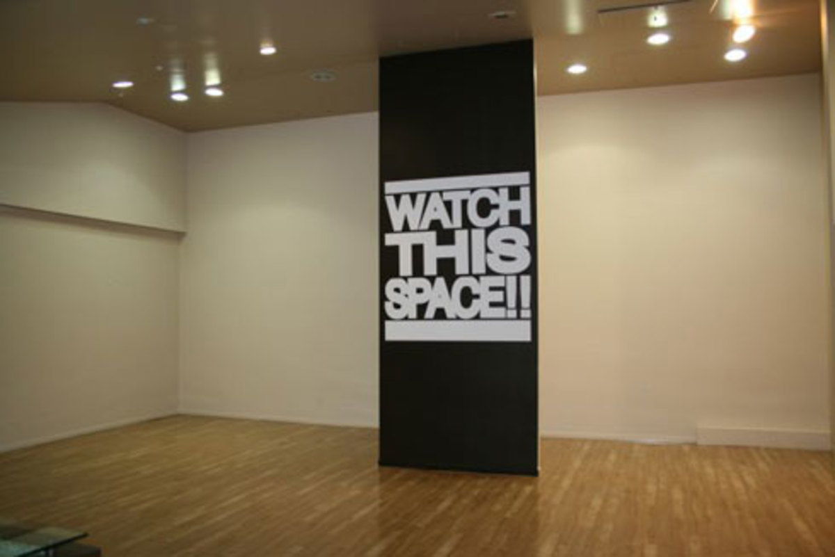 Qubic Store Gallery - Watch This Space - 1