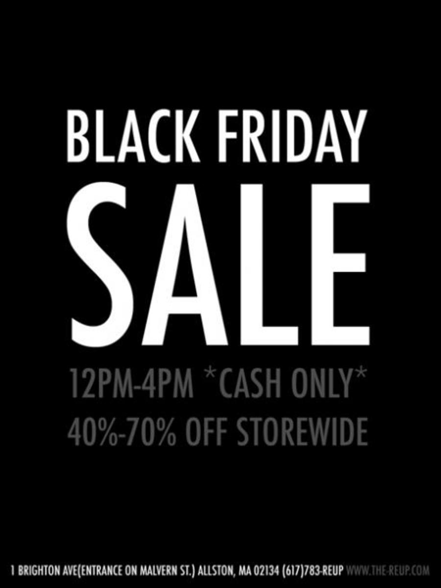 Black Friday Sales!! (Mostly NYC) - 7