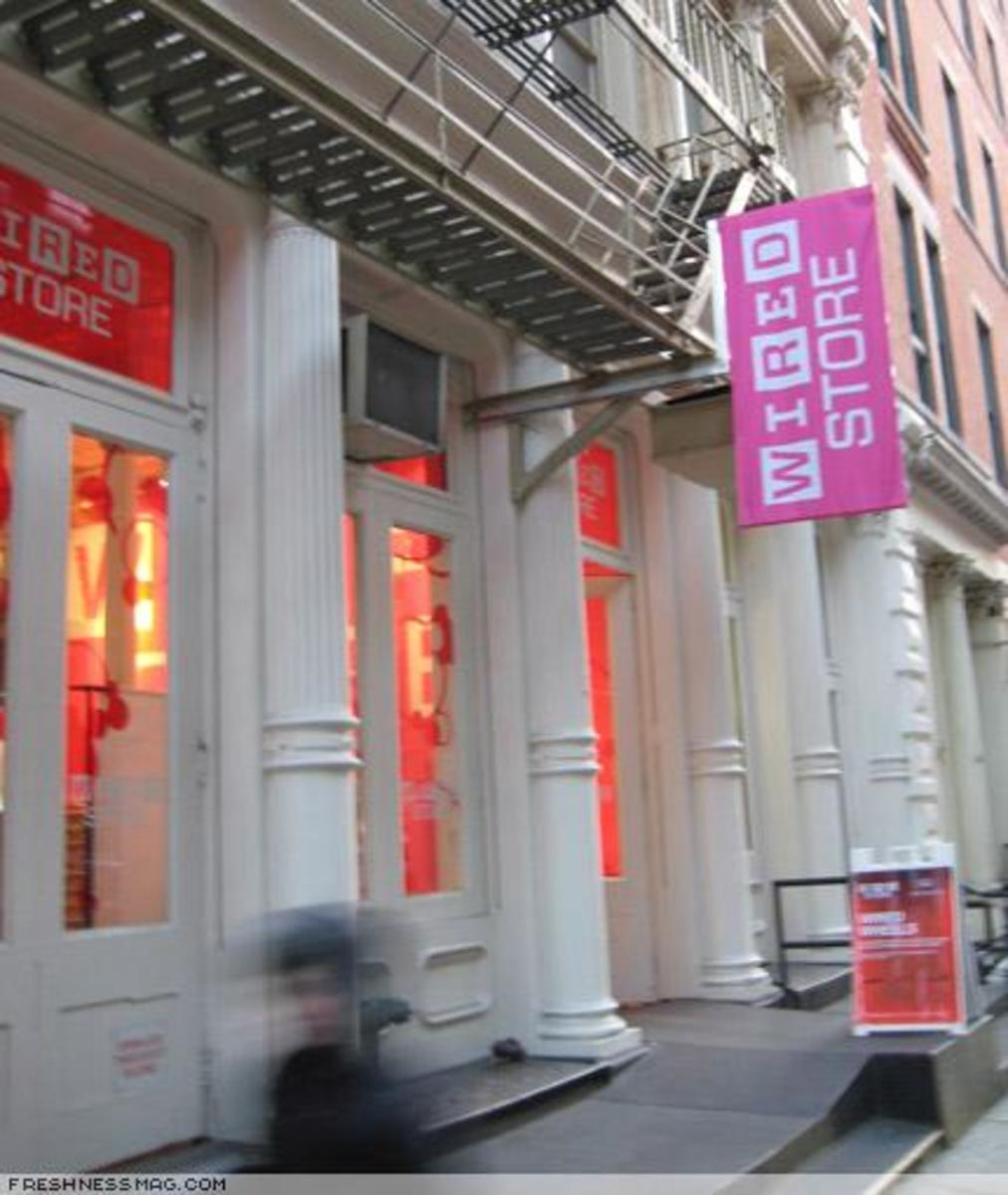 WIRED STORE 2007 - 0
