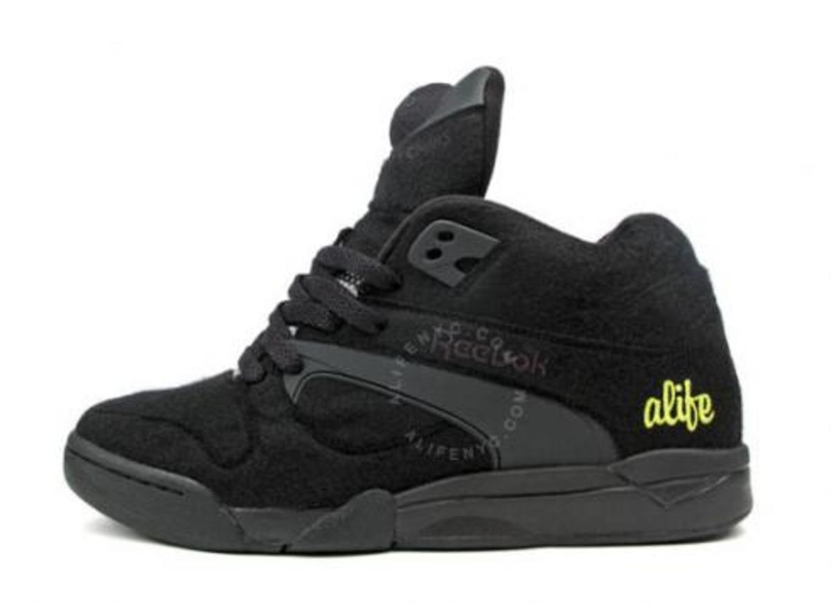 ALIFE x Reebok Court Victory - Ball Out - Black + Pink - 1