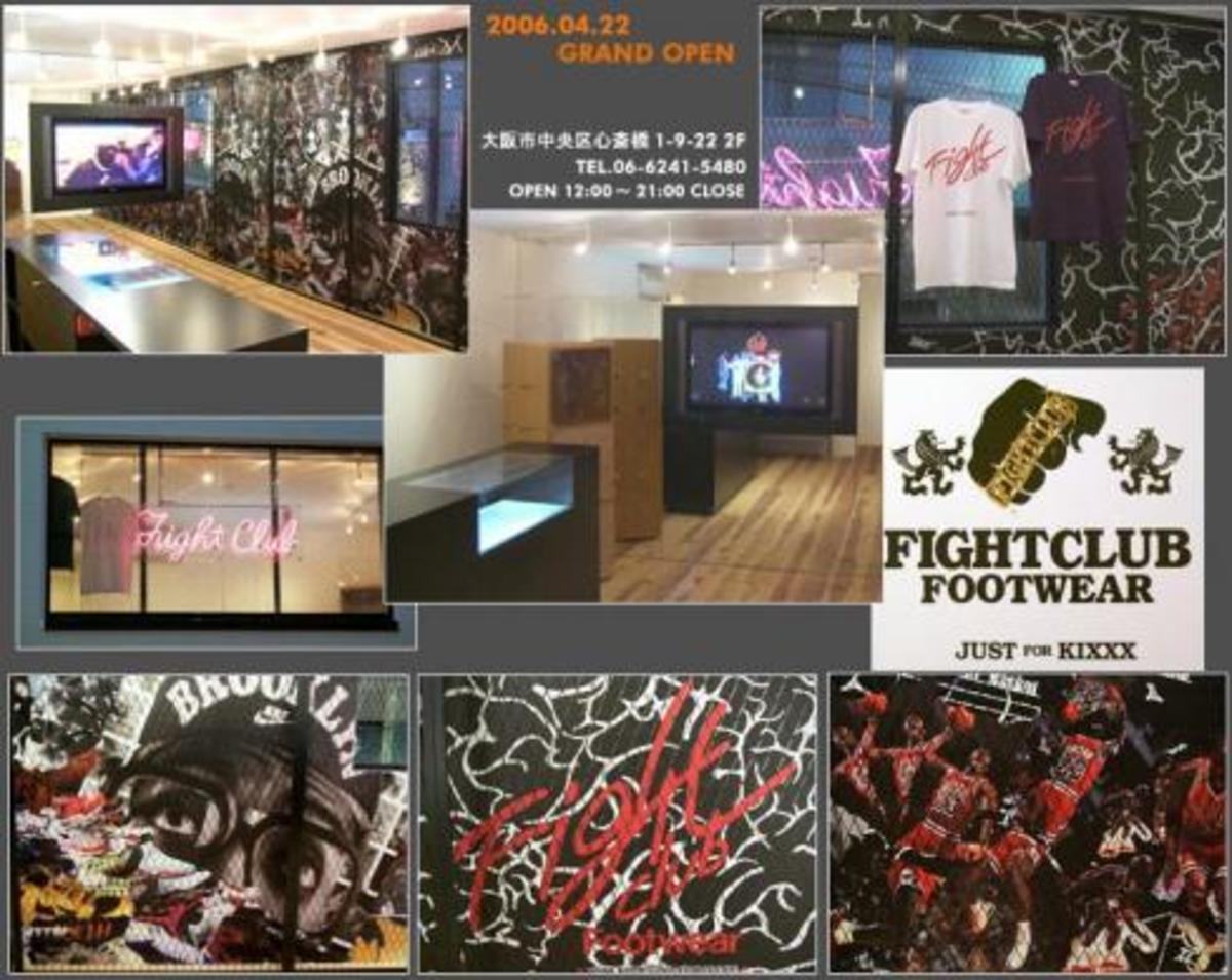 Fightclub Footwear Japan - Grand Opening - 1