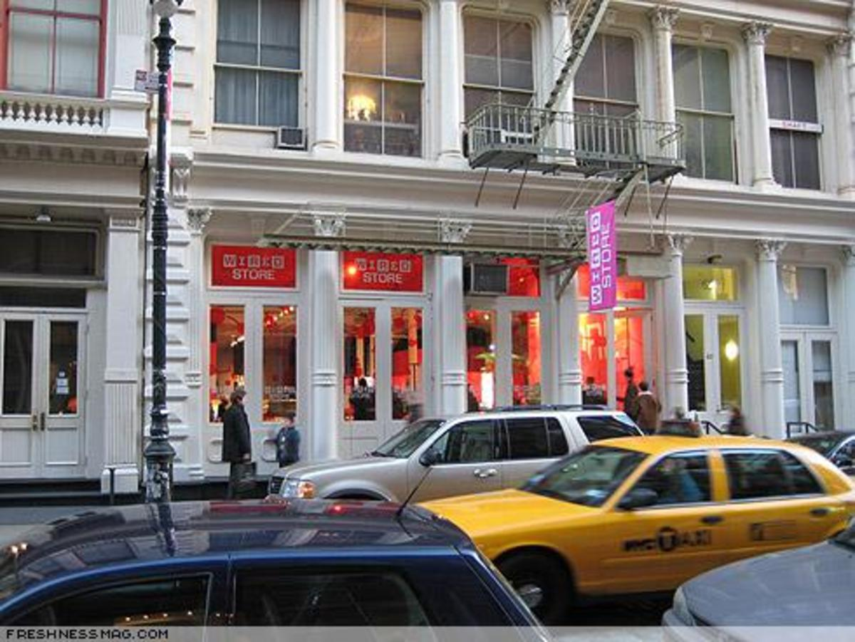 WIRED STORE 2007 - 2