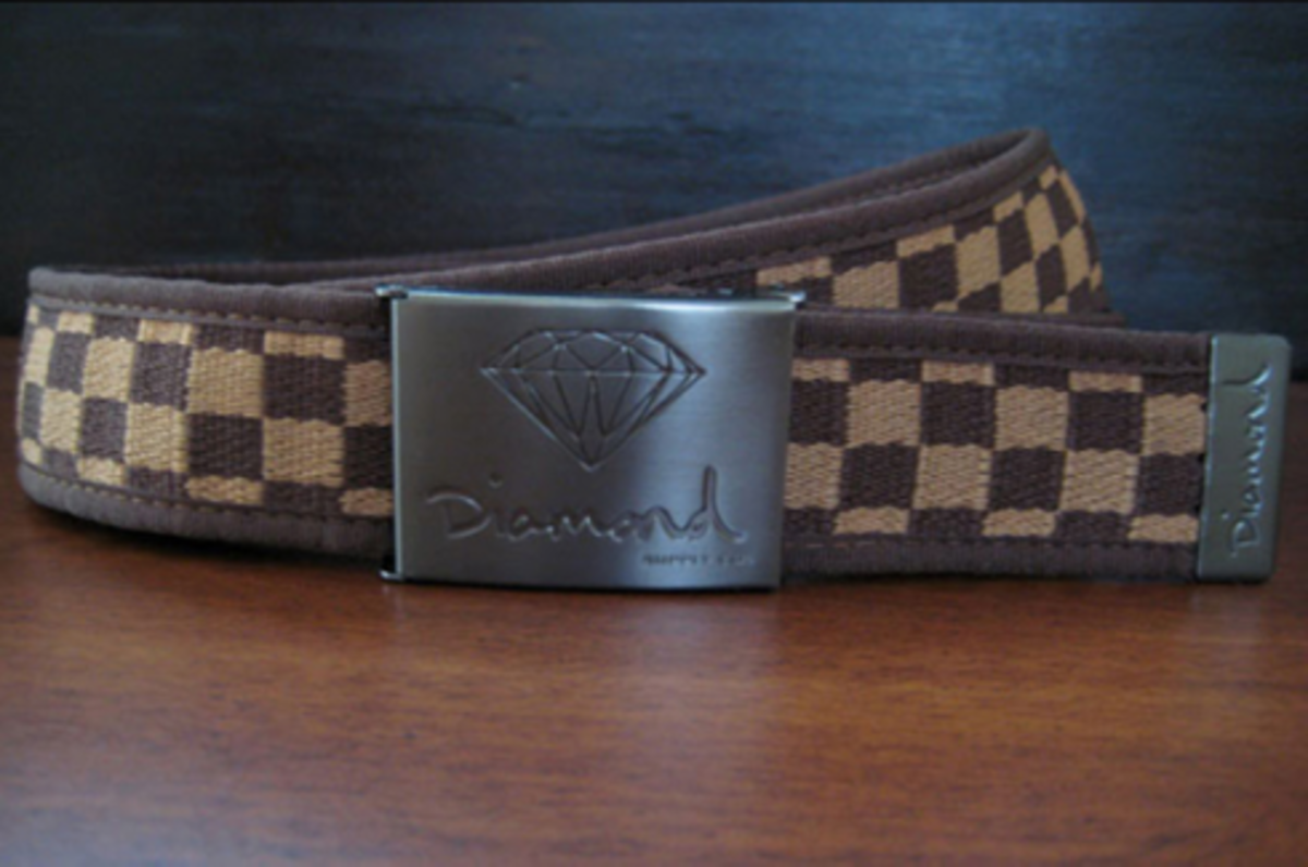 Diamond Supply Co. - Woven Checkered Belt - 0